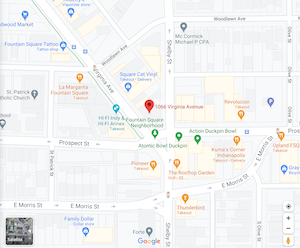 Fountain Square Map